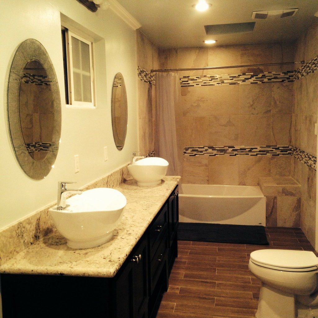 bathroom, tiles, toilet