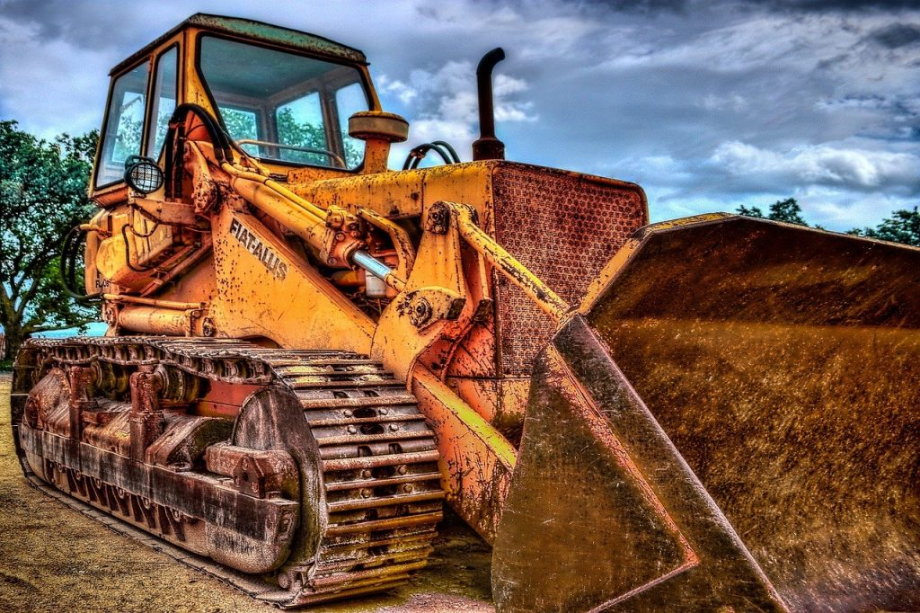 excavators, caterpillar, machine