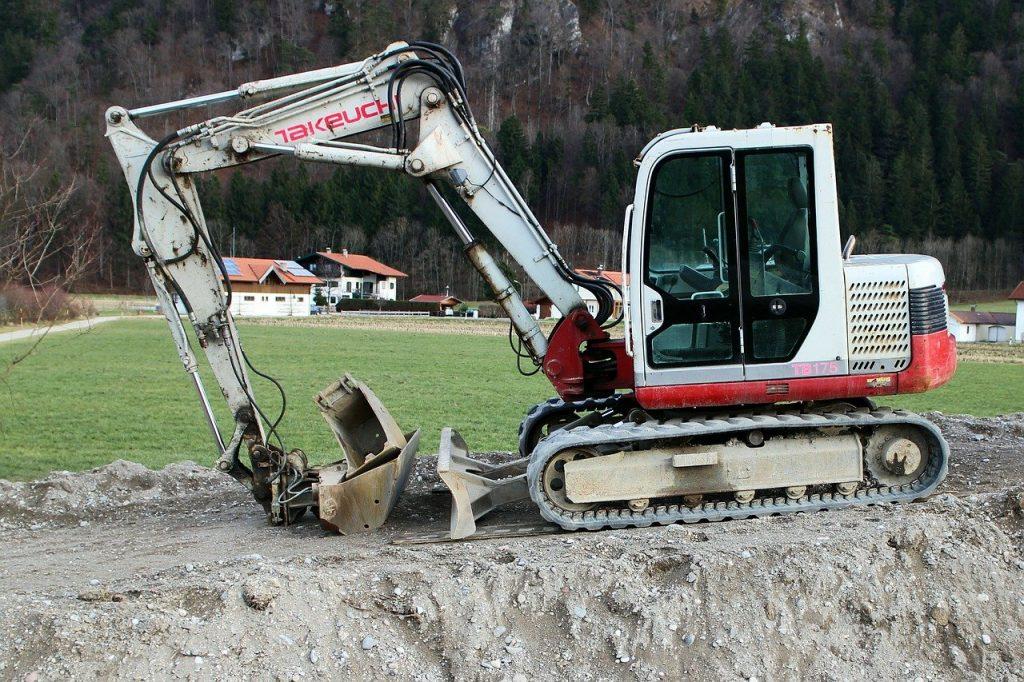 excavators, construction machine, shovel