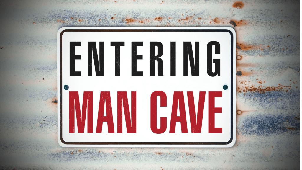 Prepping Man Cave